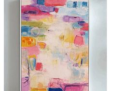 painting  , very nice  abstract painting , wall art  Jolina Anthony
