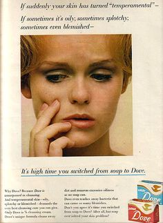 A very young Lynda in an ad for Dove soap, circa mid 1960's.