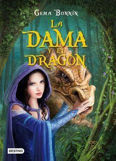 """Ficha de lectura de """"La dama y el dragón"""" de Gema Bonnin, realizada por Paula González"""