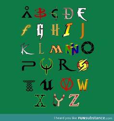 The Alphabet of Geekdom