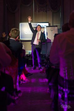 Wealth Dragon founder John Lee churns out a brilliantly enigmatic speech to round things off before networking and drinks