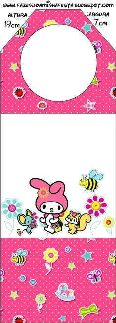 My Melody Birthday Party: Free Party Printables, Papers and Images.