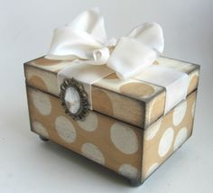 Trinket Box Romantic Shabby Chic