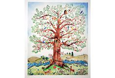 Tree  Of Life by marianne marstrand