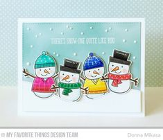 Cooler With You Card Kit - Donna Mikasa #mftstamps