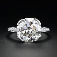 Art Deco 5.50 Carat Diamond Ring