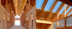 Interior horse stable, Blackburn Architects, central Montana