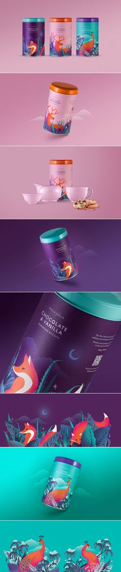 Check Out The Beautiful and Bold Look of These Biscuit Tins — The Dieline | Packaging & Branding Design & Innovation News