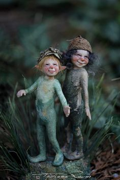 Nick and Sema. Friendly little pixie children by Raum/Chopoli