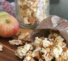 13. Caramel-Apple Popcorn | 19 Creative Ways To Flavor Popcorn