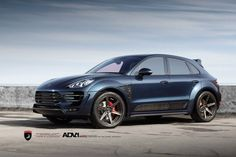 Porsche Macan by TopCar Porsche Suv, Porsche Macan Turbo, Macan S, Motorcycle Bike, Jeep Grand Cherokee, Shades Of Blue, Cars And Motorcycles, Luxury Cars, Dream Cars