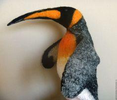 Купить Королевский пингвин. Перчаточная кукла. Бибабо.bibabo. - чёрно-белый…