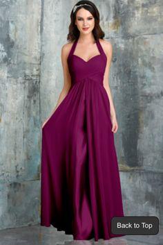 a72b93fd2528c Dress for Maid Of Honor <3 Eggplant Bridesmaid Dresses, Red Bridesmaids,  Eggplant