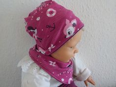 Mützen - Babymütze Babybeanie zum Wenden Wunschgröße - ein Designerstück von…