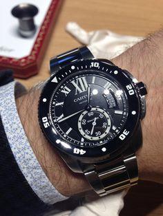 Cartier Calibre Diver Watch Hands-On | aBlogtoWatch