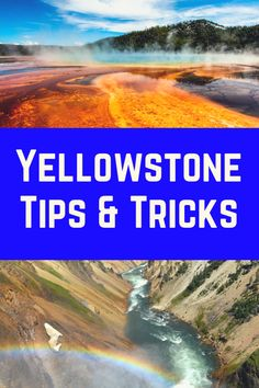 The best tips and tricks Yellowstone for planning your trip to Yellowstone National Park. Yellowstone tips include - where to stay near Yellowstone - best Yellowstone entrance - and visiting Yellowstone National Park With Kids - Visit Yellowstone, Yellowstone Vacation, Yellowstone National Park, Usa Travel Guide, Travel Usa, Travel Tips, Cool Places To Visit, Places To Travel, National Parks Usa