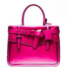 HOT Pink!! Reed Krakoff Fall 2012--Wish I had over $1200 to buy.