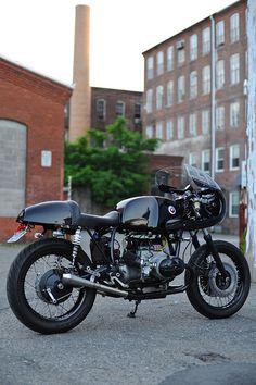 factory bike by toolatetopaint, via Flickr