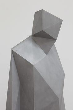 XAVIER VEILHAN • Richard Rogers (aluminum / life size)• 2010 •