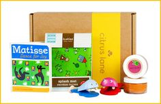 "Art Box. ""The art materials in this box will deepen your child's understanding of how the world works—while he's having fun!"" Use code PINTEREST for 40% OFF off your 1st box."