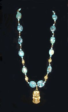 8 TURQUOISE WITH ORNAMENTS- CALL TO ORDER 214 748-4108