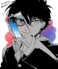 Kaito Kuroba / Kid the Phantom Thief Boys Anime, Hot Anime Guys, Cute Anime Boy, Manga Boy, I Love Anime, Manga Anime, Conan Comics, Detektif Conan, Magic Kaito