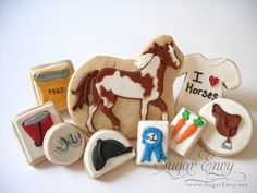 Equestrian cookies!