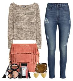 untitled 39 by caro3302 on Polyvore featuring Sonia Rykiel, H&M, Sif Jakobs Jewellery, Laura Geller and Burberry