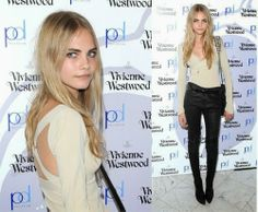How to Chic: CARA DELEVINGNE LEATHER PANTS