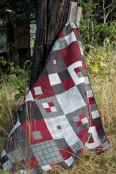 Hip Cougar Flannel Quilt Kit