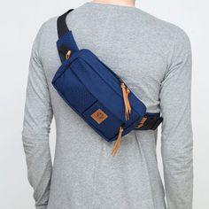 Hip Purse, Belt Purse, Hip Bag, Back Bag, Leather Fanny Pack, Black Shoulder Bag, Leather Bifold Wallet, Coq, Knitted Bags