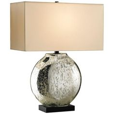 Currey and Company Possibility Antiqued Glass Table Lamp - #Y1594 | LampsPlus.com