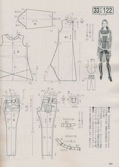 Amazing Sewing Patterns Clone Your Clothes Ideas. Enchanting Sewing Patterns Clone Your Clothes Ideas. Sewing Lessons, Sewing Class, Love Sewing, Japanese Sewing Patterns, Sewing Patterns Free, Clothing Patterns, Make Your Own Clothes, Diy Clothes, Ladies Clothes