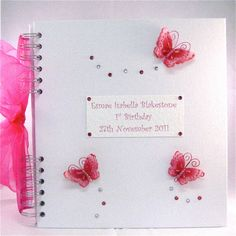 Personalised 1st Birthday Book by dottiedesignsxx on Etsy