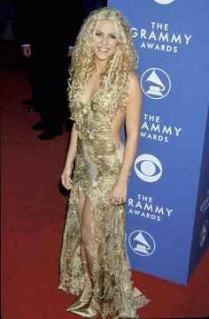Shakira looked beautiful in 2001, but this dress might be a bitrisquéfor the new guidelines from CBS.Photo Credit: WireImage via @stylelist
