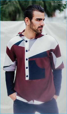 Nyle DiMarco embraces colorblocking for the pages of Nylon Guys Indonesia.