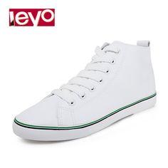 Women High-cut White Pu Sneaker