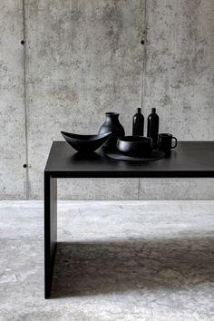 Rectangular MDF table OMBRÌ 01 by FIORONI | #design Studio Guscetti