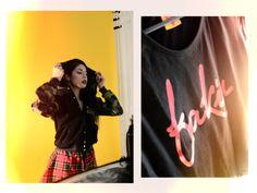 **Back LookBook Fakiu Clothes A/W 2014*** Ph Back: @Viktorija Matias Leandro Madala  http://lebrujx.tumblr.com/ Modelo:Mica Minvielle  https://www.facebook.com/micaela.minvielle.7?fref=ts Make Up : Sabrina Abadi Maquillaje https://www.facebook.com/SabrinaAbadiMaquillaje?fref=ts Pelo: Santamaría  https://www.facebook.com/Lapocalipsis?fref=ts Zapatos: Bella Deyna bags https://www.facebook.com/belladeynas?fref=ts Produccion: FAKIU CLOTHES…