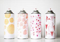 Marsha paint cans #designeveryday