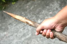 How to Make Weapons out of Sticks in 7 Steps