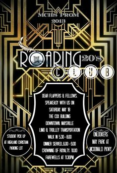2013 Prom Invitation and Info Card