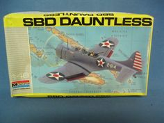 Monogram 5212 US Navy SBD Dauntless WWII Aircraft Plastic Model Kit | eBay