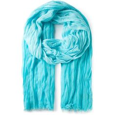 Polo Ralph Lauren Fringed Scarf ($57) ❤ liked on Polyvore featuring accessories, scarves, blue, fringed shawls, blue shawl, polo ralph lauren, fringe scarves and blue scarves