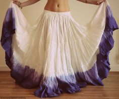 As a dress? Empire neckline and belted waist.  Ombre skirt