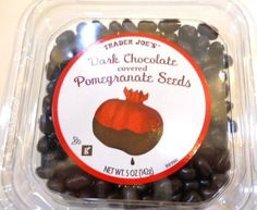 Dark Chocolate Covered Pomegranate Seeds by Trader Joe's