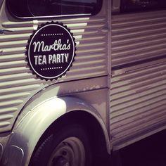 Branded Citroen H Van | Martha's Tea Party