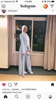 Jumpsuit Hijab, Hijab Gown, Hijab Evening Dress, Hijab Dress Party, Hijab Style Dress, Casual Hijab Outfit, Modern Hijab Fashion, Muslim Fashion, Couture Dresses