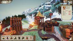 El fabricante de herramientas y el forjador de armas se unen al pueblo vikingo en Valhalla Hills.
