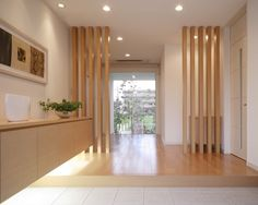 Home Room Design, Home Interior Design, Interior And Exterior, House Design, Living Room Partition Design, Room Partition Designs, Muji Home, Japanese Interior Design, House Entrance